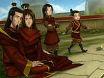 Firelord Zuko's happy family