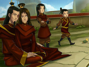 Firelord Zuko's happy family