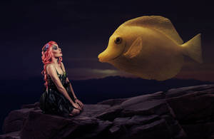 Oh fishy fish fish by theheek