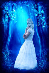 Blue night by theheek