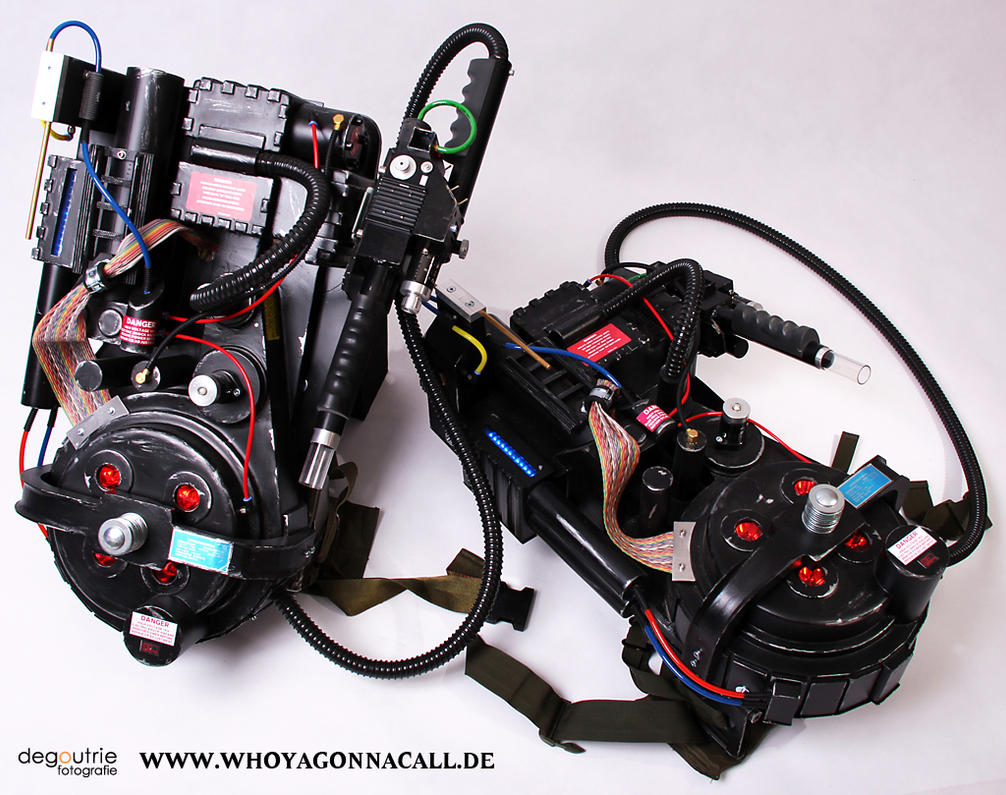 how to build a lego ghostbusters proton pack
