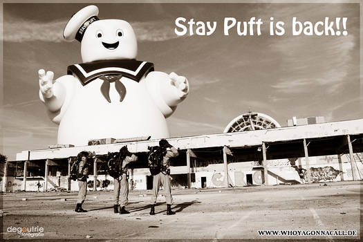 Stay Puft is back!