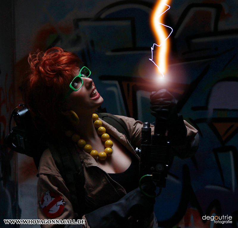 Janine Melnitz (Ghostbusters) by kathy1602