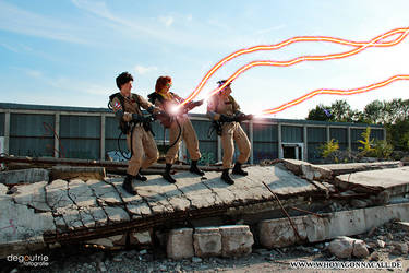 Ghostbusters on a sunny day