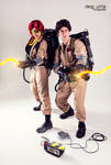 Ghostbusters - Janine Melnitz and Egon Spengler
