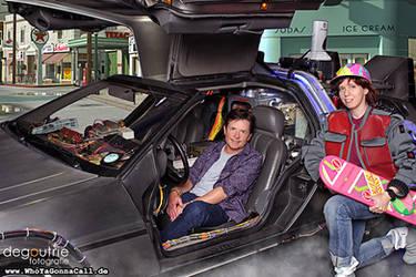 Michael J. Fox, deLorean and me *___*