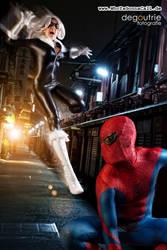 Black Cat and Amazing Spiderman