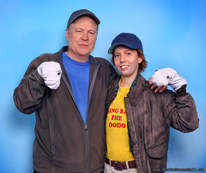 Meeting Dwight Schultz - Lucky me!