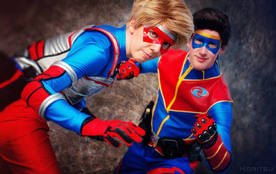 Kid Danger and Captain Man