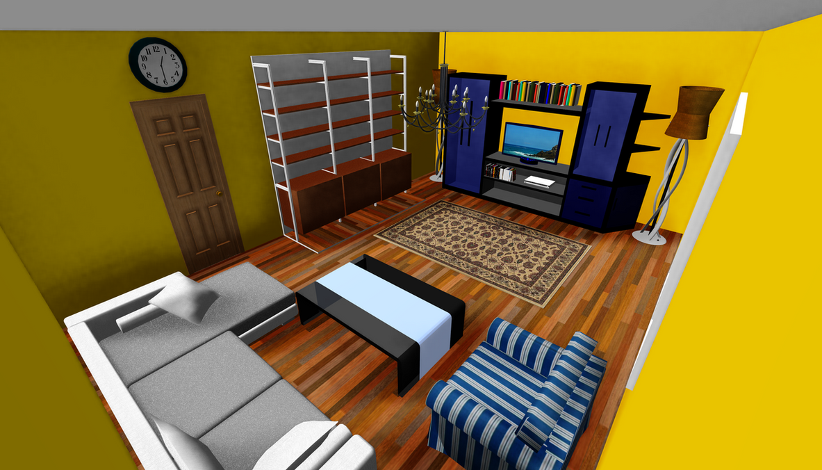 Living room download by Rolneeq