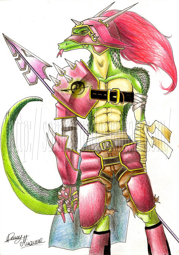 Lizardman by Sommum