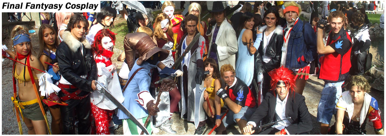 Cosplay Final Fantasy by Sommum