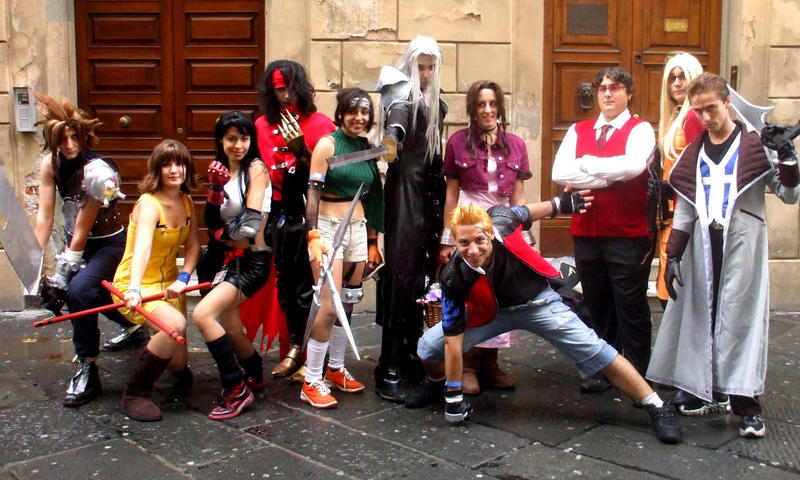 Cosplay FF VII and VIII by Sommum