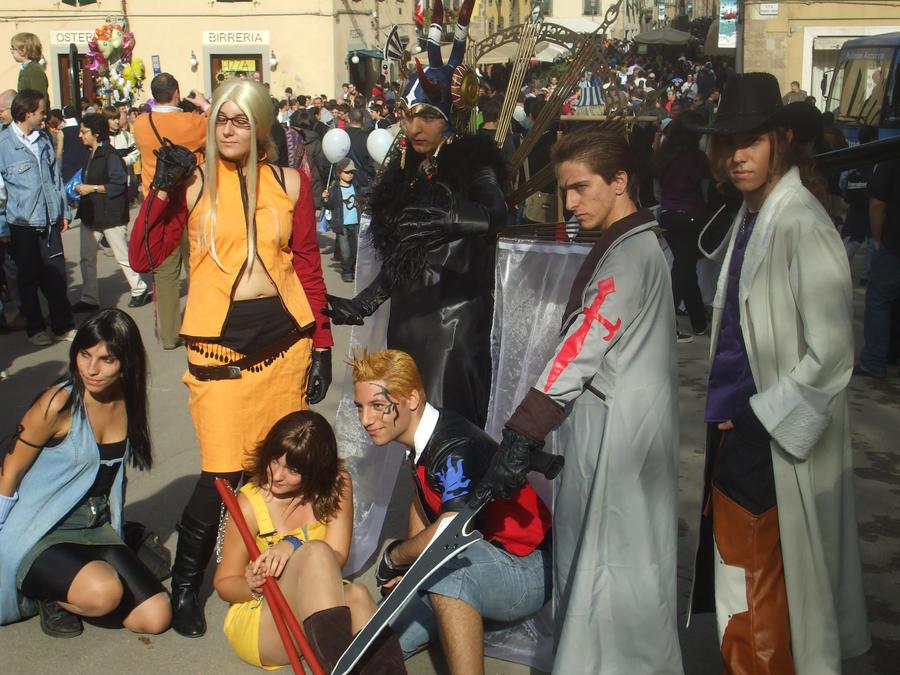 Cosplay Final Fantasy VIII by Sommum