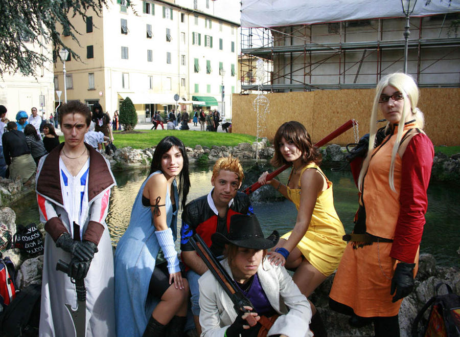 final fantasy VIII cosplay by Sommum