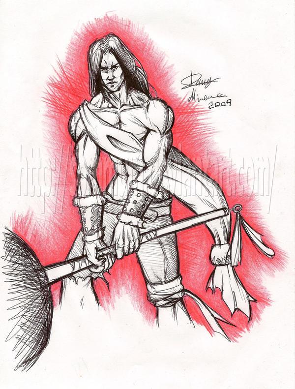Tha warrior by Sommum