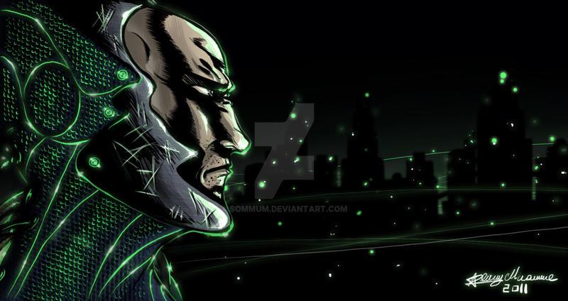 Cyber hacker by Sommum