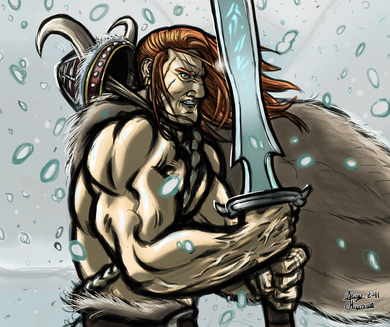 The last Viking by Sommum