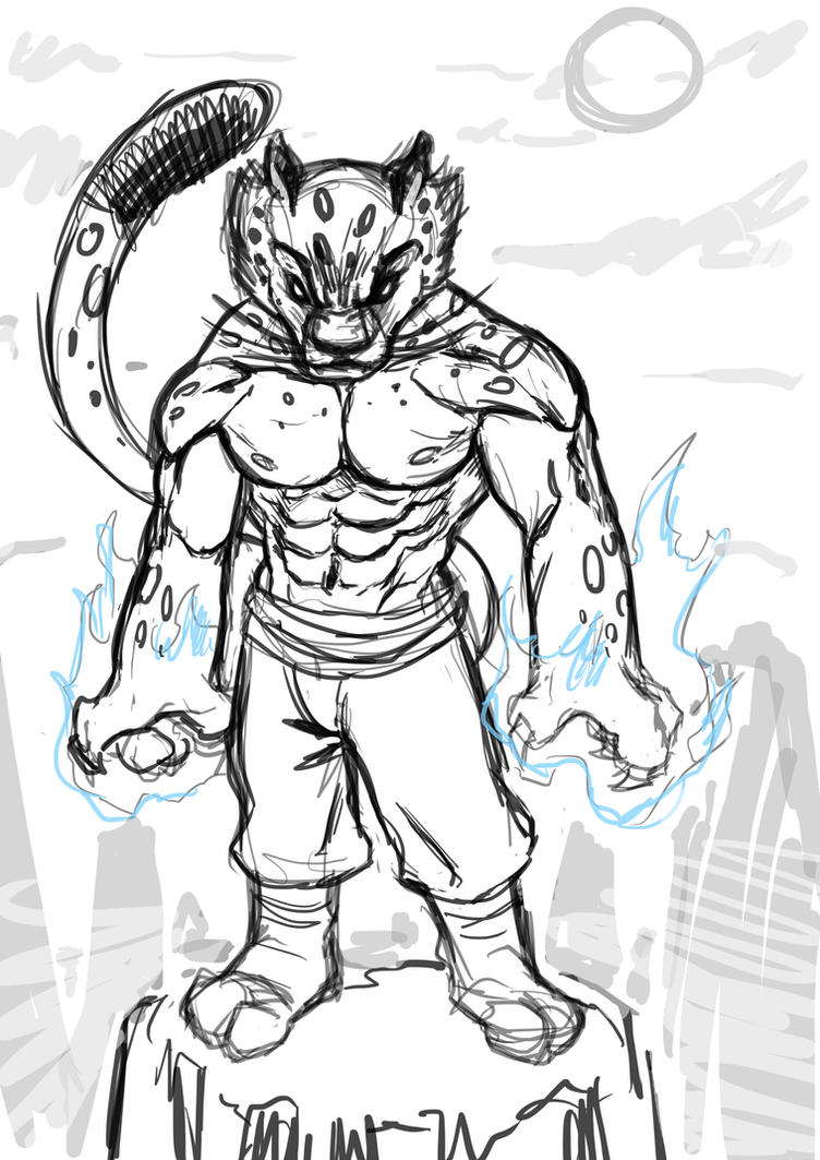 Young Tai lung Sketch by Sommum