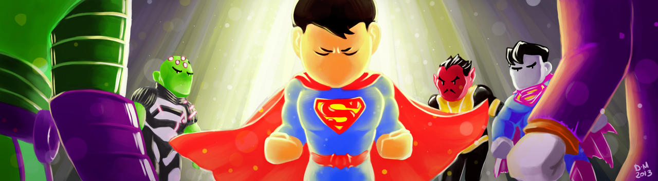 Superman powerful! by Sommum