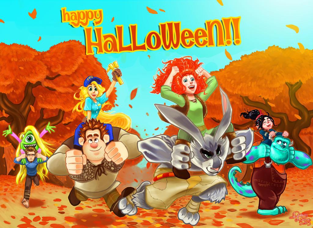 Happy Halloween! 2013 by Sommum