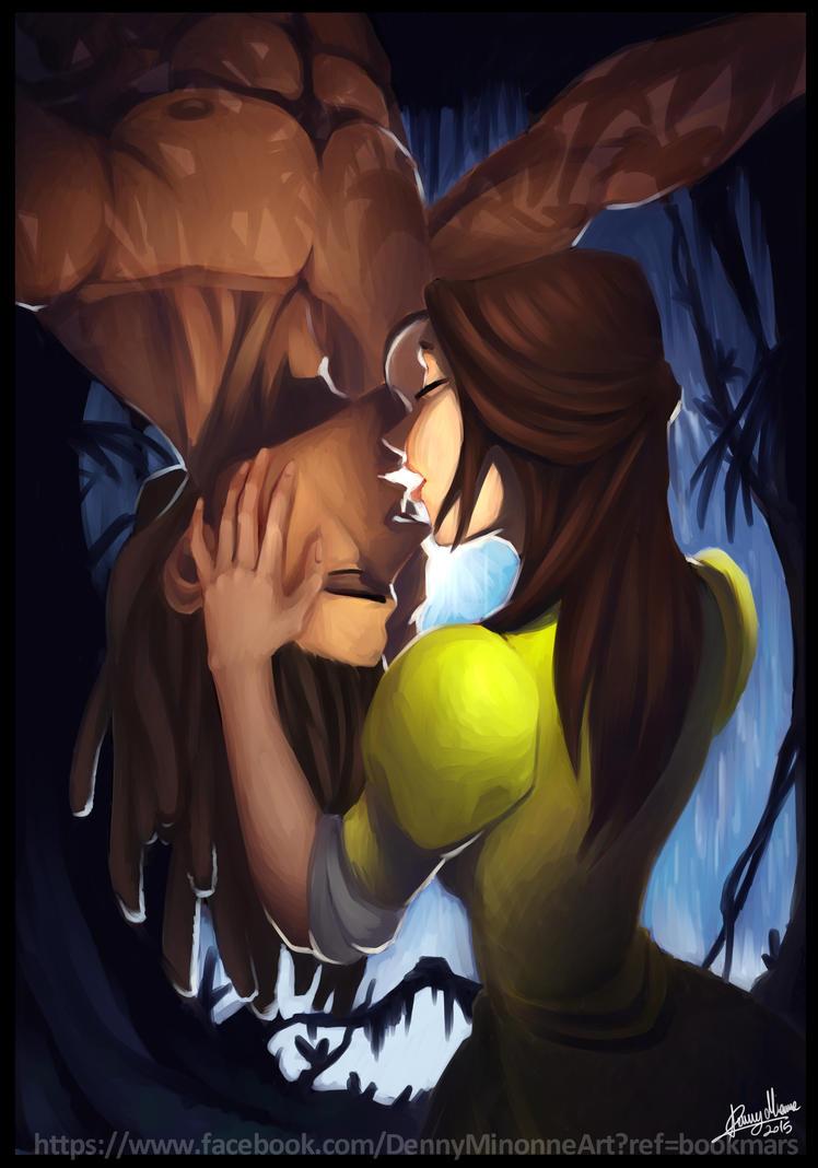 Tarzan kiss by Sommum