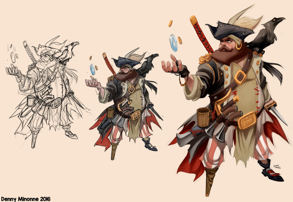 Mr. Pirate W.i.p. by Sommum