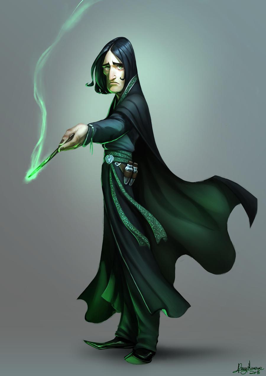 Severus Snape by Sommum