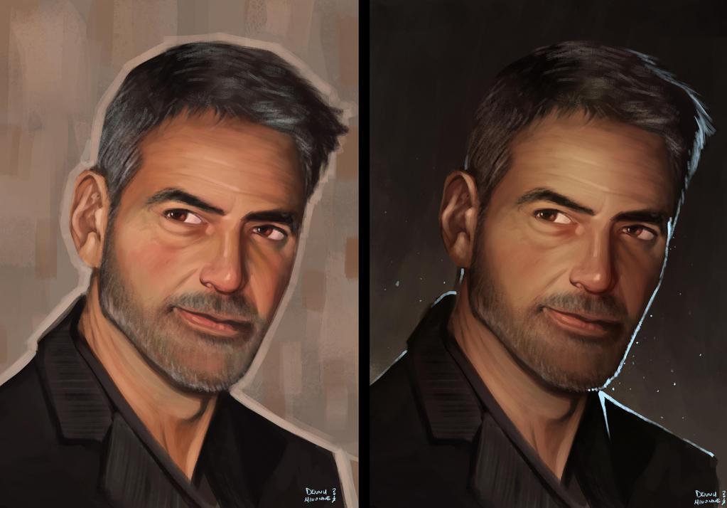 George Clooney by Sommum