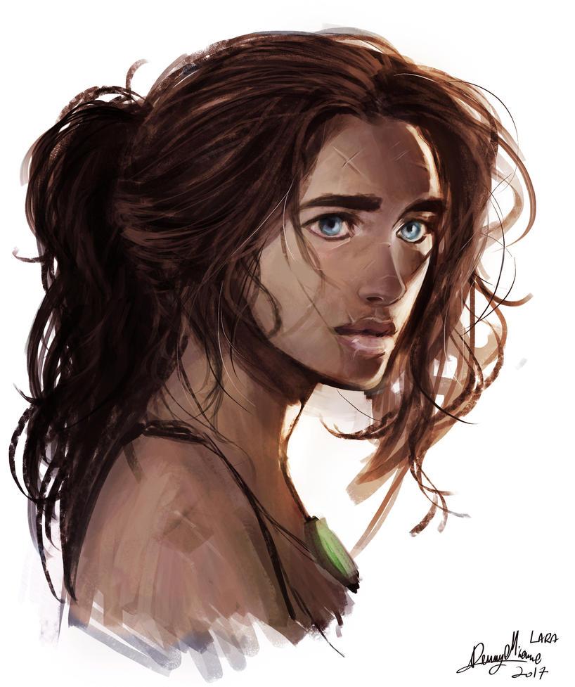 Lara Croft by Sommum