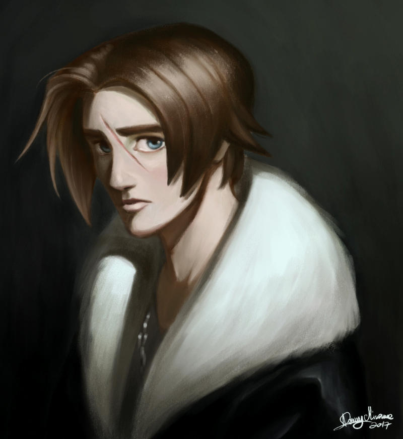 Squall (brush test) by Sommum