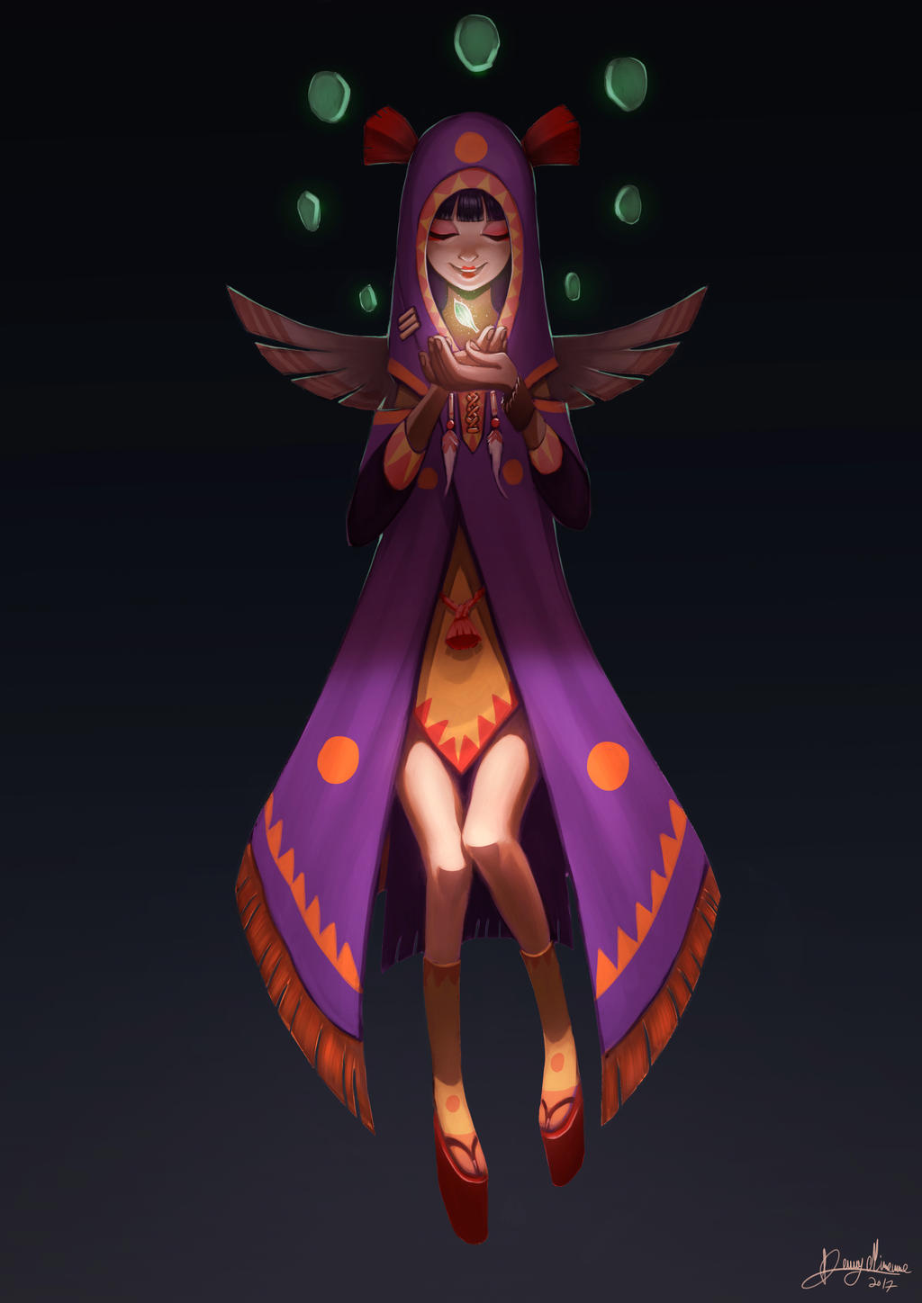 The Mage (Hero) by Sommum