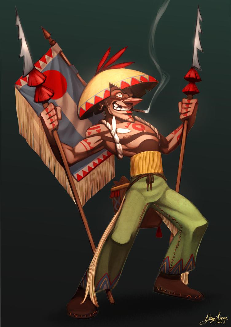 The fisherman (Villain) by Sommum