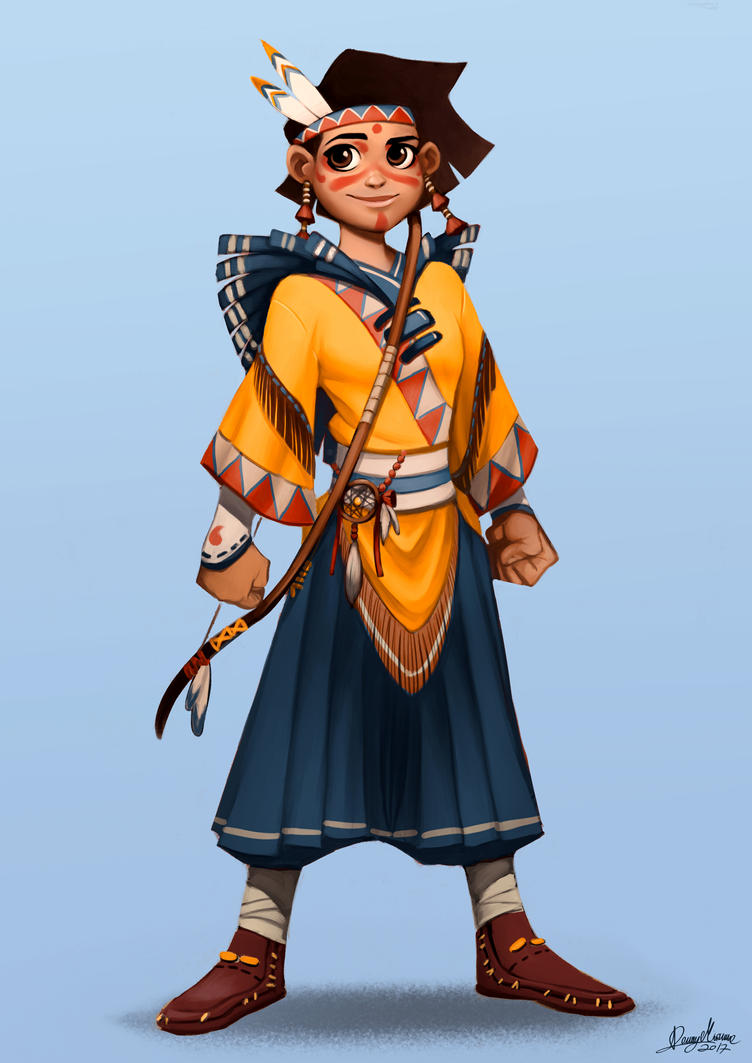 The archer (hero) by Sommum