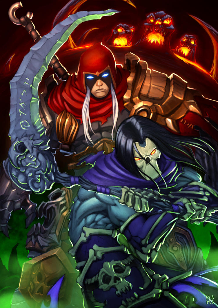 Darksiders tribute by Sommum