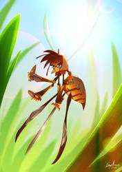Warrior Wasp by Sommum