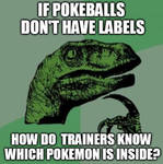 Which Pokemon is inside?