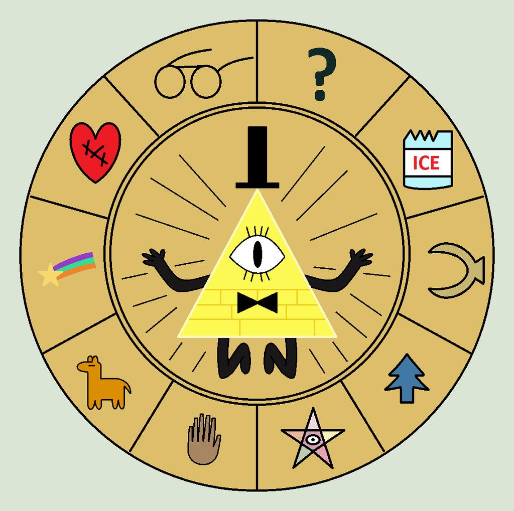 Bill Cipher Wheel By Flippytiger On DeviantArt