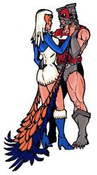 Zodak and Sorceress colored