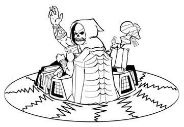 Skeletor on Roton