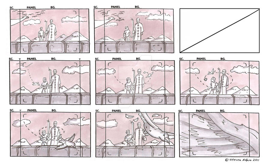 Anime Storyboards By Arthousteven On Deviantart