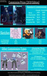 Commission Sheet (2018 prices)