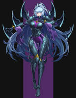 League of Legend Nightblade Irelia Fanart2 by drogod