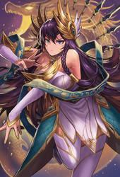 League of Legend Divine Sword Irelia Fanart by drogod