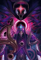 League of Legend Dark star Jhin Fanart