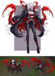 League of Legend Vampire Evelynn Skin Fanart
