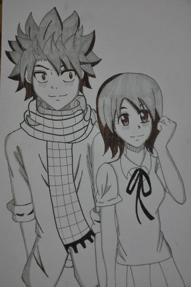 natsu and lisanna by sakurayuukisuki on deviantart