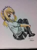 maid lucy by sakurayuukisuki