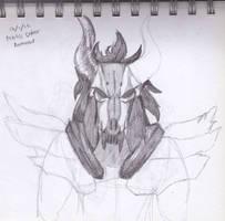 Dober Armour Half Sketch