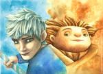 Jack Frost and Sandman
